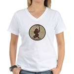 2/2 Military Police Paladins Women's V-Neck T-Shir