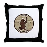 2/2 Military Police Paladins Throw Pillow