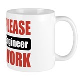 Nuclear Engineer Work Coffee Mug