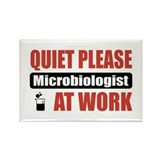 Microbiologist Work Rectangle Magnet