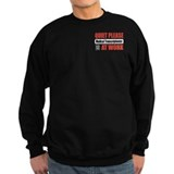 Medical Transcriptionist Work Sweatshirt