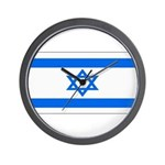 Israel Jewish Flag Wall Clock