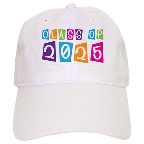 Colorful Class Of 2025 Cap