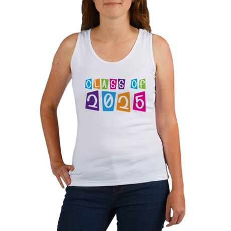 Colorful Class Of 2025 Women's Tank Top