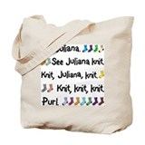 See Juliana Knit Tote Bag