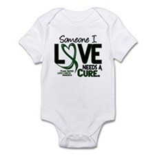 Needs A Cure 2 LIVER CANCER Infant Bodysuit