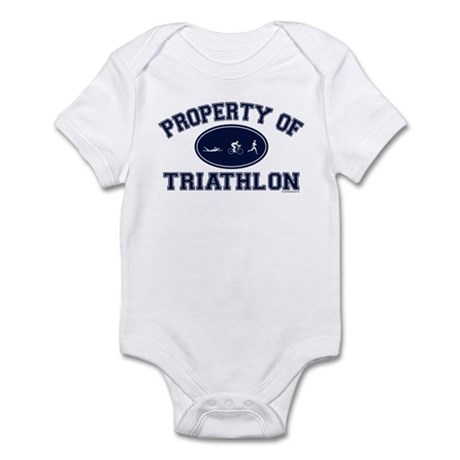Property of Triathlon Icons Infant Bodysuit