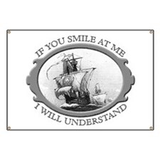 """If You Smile At Me"" Banner"