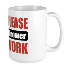 Javelin Thrower Work Mug