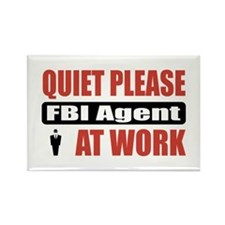 FBI Agent Work Rectangle Magnet (10 pack)