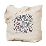 Book club Canvas Totes