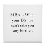 MBA Tile Coaster