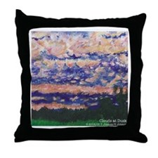 Gift Pillow: Clouds At Dusk