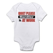 Hurdler Work Infant Bodysuit