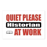 Historian Work Postcards (Package of 8)