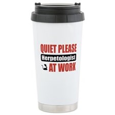 Herpetologist Work Ceramic Travel Mug