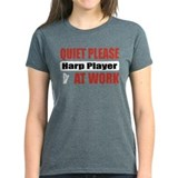 Harp Player Work Tee