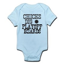 Hockey Playoff Beards Infant Bodysuit