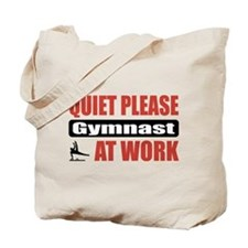Gymnast Work Tote Bag