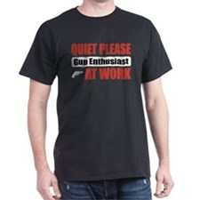 Gun Enthusiast Work T-Shirt