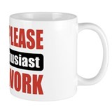 Gun Enthusiast Work Mug