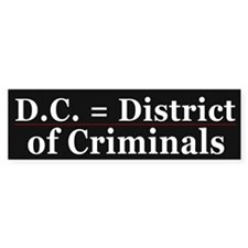 D.C. = District of Criminals