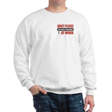 Forensic Scientist Work Sweatshirt