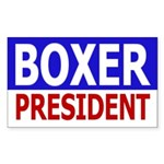 Boxer for President (bumper sticker)