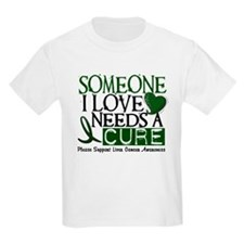Needs A Cure 1 LIVER CANCER T-Shirt
