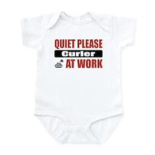 Curler Work Infant Bodysuit