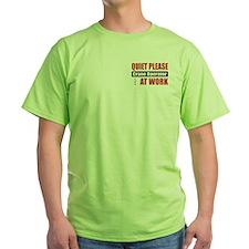 Crane Operator Work T-Shirt