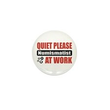 Numismatist Work Mini Button (100 pack)