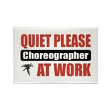 Choreographer Work Rectangle Magnet (100 pack)