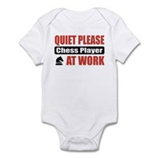 Chess Player Work Infant Bodysuit
