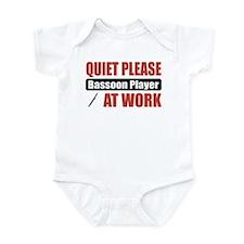 Bassoon Player Work Infant Bodysuit