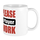 Bassoon Player Work Small Mug