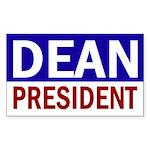 Dean: President (bumper sticker)