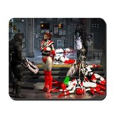 Cute Alien babes Mousepad