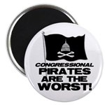 """Congressional Pirates 2.25"""" Magnet (10 pack)"""