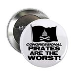 """Congressional Pirates 2.25"""" Button (10 pack)"""