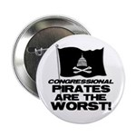"Congressional Pirates 2.25"" Button"