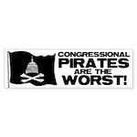 Congressional Pirates Bumper Sticker (10 pk)