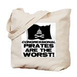 Congressional Pirates Tote Bag