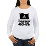 Congressional Pirates Women's Long Sleeve T-Shirt