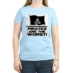 Congressional Pirates Women's Light T-Shirt