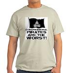 Congressional Pirates Light T-Shirt