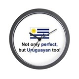Perfect Uruguayan Wall Clock