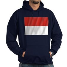 Pure Flag of Indonesia Hoodie