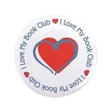 "I Love My Book Club 3.5"" Button (100 pack)"