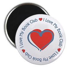I Love My Book Club Magnet